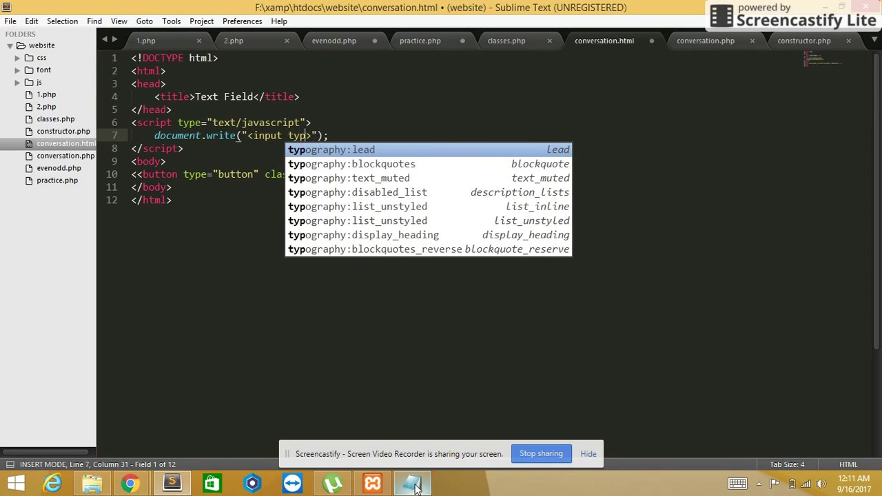 How to get multiple new text field onclick every click on button HTML  JavaScript