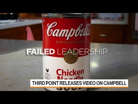 Loeb Comes Out Swinging in Fight with Campbell Soup