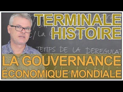 La gouvernance économique mondiale depuis 1944 - Histoire-Géographie - Terminale - Les Bons Profs