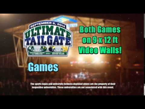 Ultimate Tailgate Experience: FOX Sports Detroit Girls Appearance