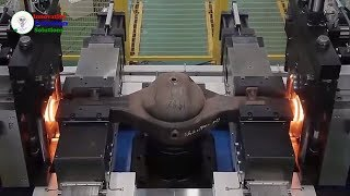Amazing Friction welding .  Awesome most special welding technology
