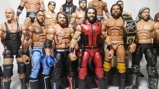 WWE Mattel Summerslam 2017 Elite Figures! Seth Rollins AJ Styles Jinder Mahal