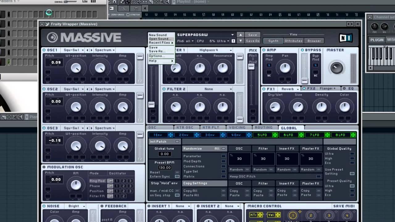 FL Studio Presets | Electro/House Production Pack (FREE) (Massive