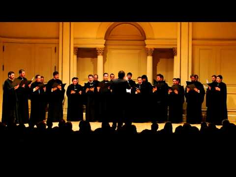 The Archdiocesan Byzantine Choir and the Youth Choir Performed at Carnegie Hall