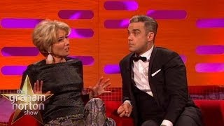 Robbie Williams Talks About Getting Hair Implants - The Graham Norton Show