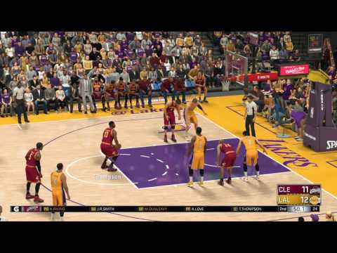 NBA 2K17 - Cleveland Cavaliers vs Los Angeles Lakers | PC Gameplay 1080p HD