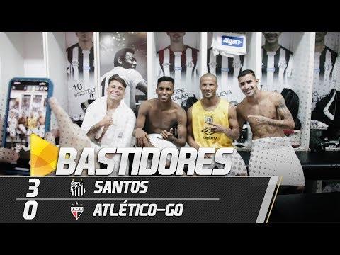 SANTOS 3 X 0 ATLÉTICO-GO | BASTIDORES | COPA DO BRASIL (11/04/19)