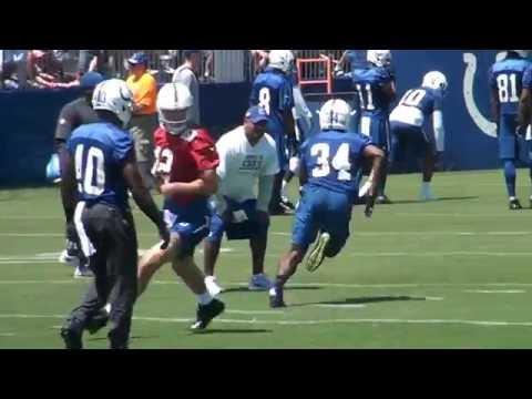 Camp Conversation  with Colts RB Josh Ferguson