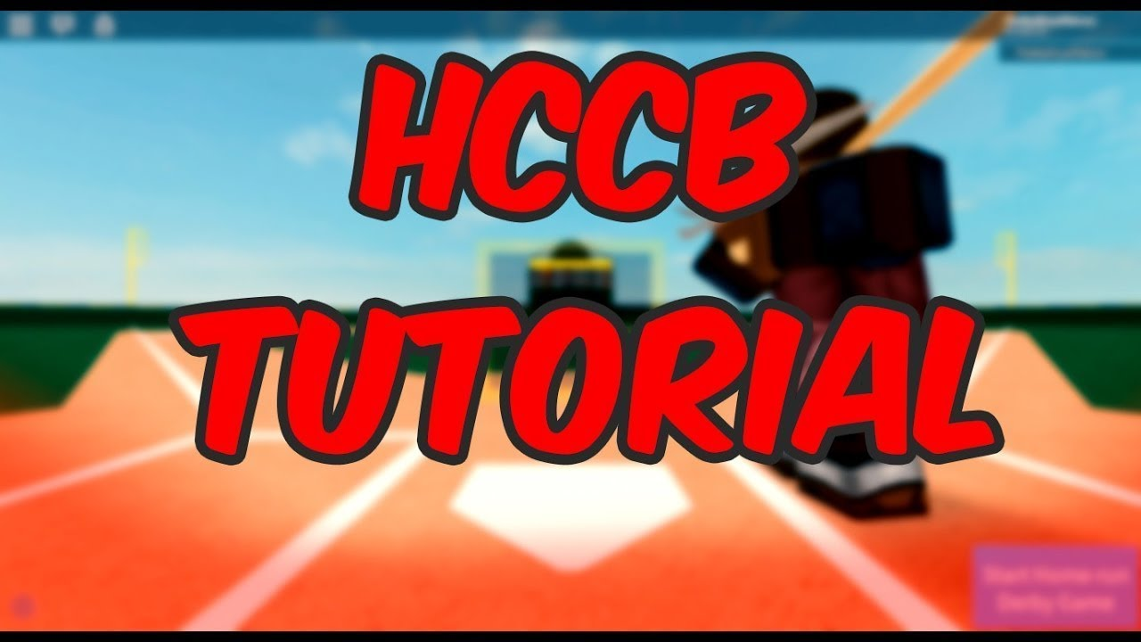 How To Pitch Bat Field On Baumz Hcbb Alpha9v9 Roblox