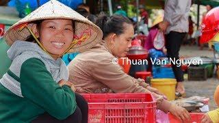 Vietnam || Cau Ke Rural Market || Tra Vinh Province
