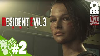 YouTube動画:#2【無規制】おついちの『RESIDENT EVIL 3(バイオハザード:RE3)』【Live】