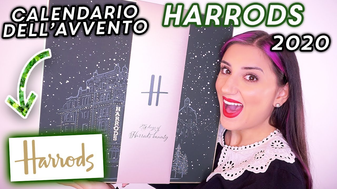 CALENDARIO DELL'AVVENTO HARRODS 2020 🎁