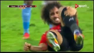 ملخص مباراة مصر وبتسوانا