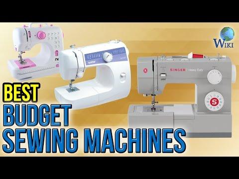 10 Best Budget Sewing Machines 2017