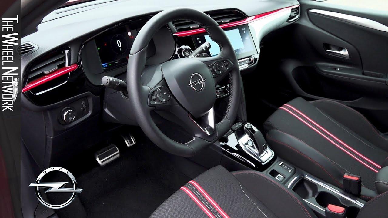 2020 Opel Corsa Interior Youtube