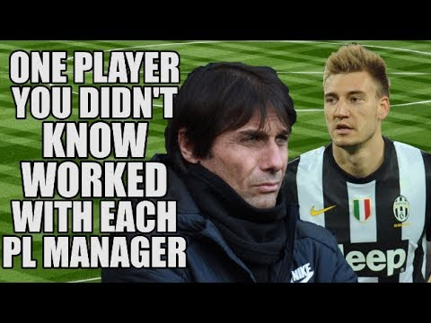 One Player You Didn't Know Worked With Each Premier League Manager