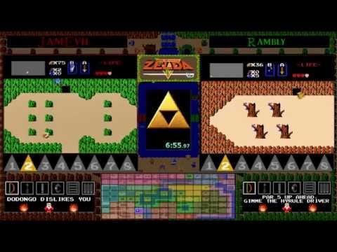 Zelda 1 Randomizer Tournament - JamEvil vs. Rambly