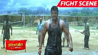 Manchu Manoj Best Action Scene - Saves Rakul Preet Singh - Current Theega Movie Scenes