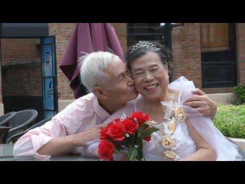 يورو نيوز:شاهد: عيد الحب في الصين .. فالنتاين للمسنّين