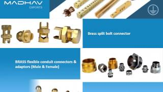 Madhav Exports | Electrical wiring Accessories, Precision Brass Components