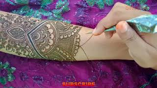 Full Hand Dulhan (Bridal) Mehndi Design - How to Apply Wedding Mehndi