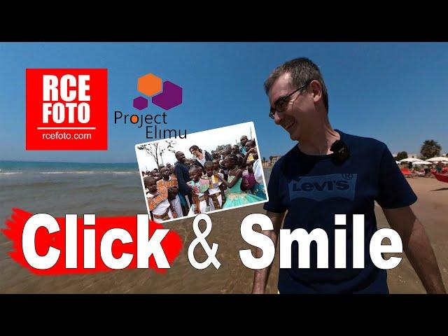 Click & Smile: TU, Mauro De Bettio e RCE per Project Elimu 🌍