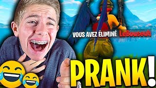 J'AI PRANK LEBOUSEUH SANS FAIRE EXPRÈS EN PLEIN TOP 1 SUR FORTNITE BATTLE ROYALE !!!
