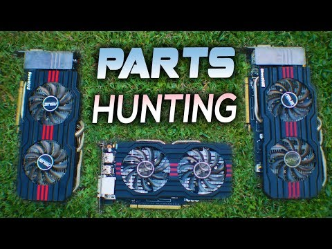 Used PARTS Hunting | How to Sell PC Builds? | Nvidia Max-Q E