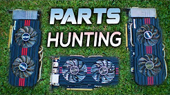 Used PARTS Hunting | How to Sell PC Builds? | Nvidia Max-Q Event