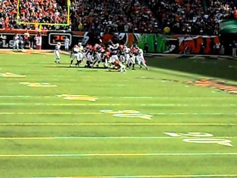 Bengals vs. Bills 10/2/11 Mike Nugent game winning FG