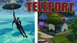 *NEW* Teleport To Salty Springs In Fortnite | Teleport Under Map Glitch | AFTER PATCH
