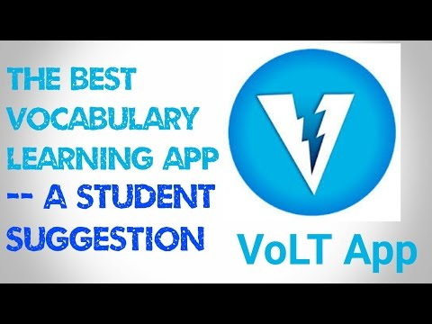 Best Vocabulary App Ever - A Student's Suggestion | VoLT App
