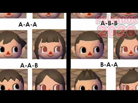 animal crossing peinados wii - youtube