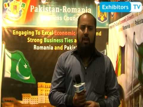 Pak-Romania Business Council boosting Strong Business Ties (Exhibitors TV @ My Karachi 2013)