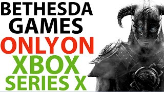 Bethesda Games ONLY OΝ Xbox Series X | New Xbox Exclusives Not ON PS5 | Xbox & Ps5 News