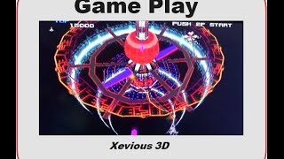 Xevious 3D/G Game Play