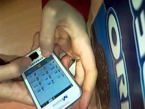 Samsung GT - S5600 UNLOCK INVALID
