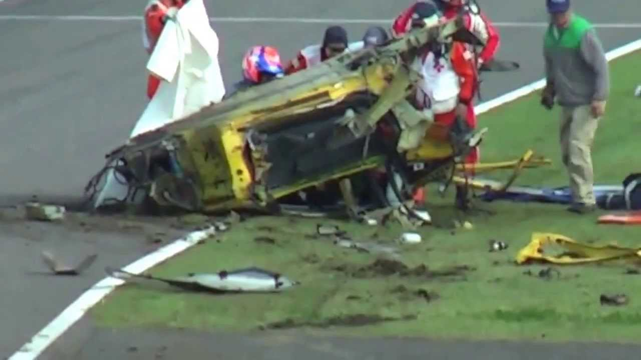 2013 Ferrari 458 Horror Crash At Suzuka Youtube