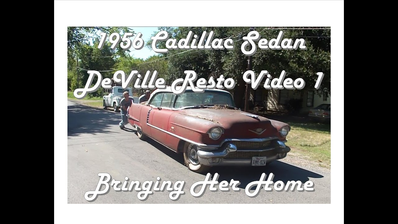 1956 cadillac deville for sale on classiccars com 9 - 1956 Cadillac Sedan Deville Resto Video 1 Bringing Her Home