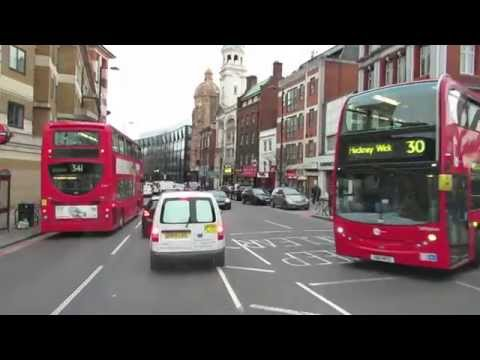 London truck driving - from Islington to Euston station
