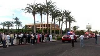 GERAP - Semana Santa 2009, Banderazo de salida