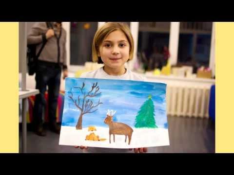 Детские занятия в «Пора рисовать!»