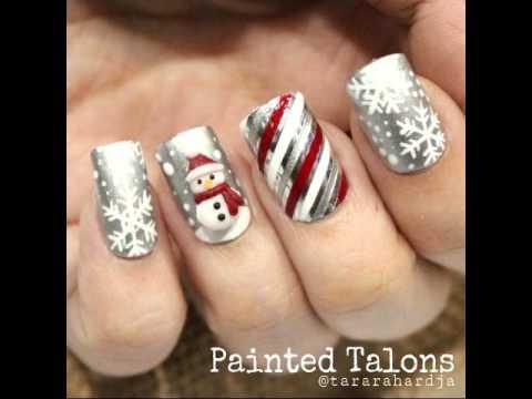 best beautiful christmas nail art ideas - Best Christmas Nail Design Ideas