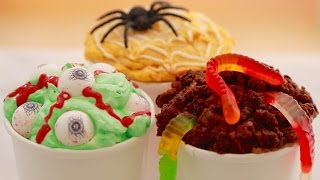 Halloween Homemade Ice Cream (no Machine) - Gemma's Bigger Bolder Baking Ep  93