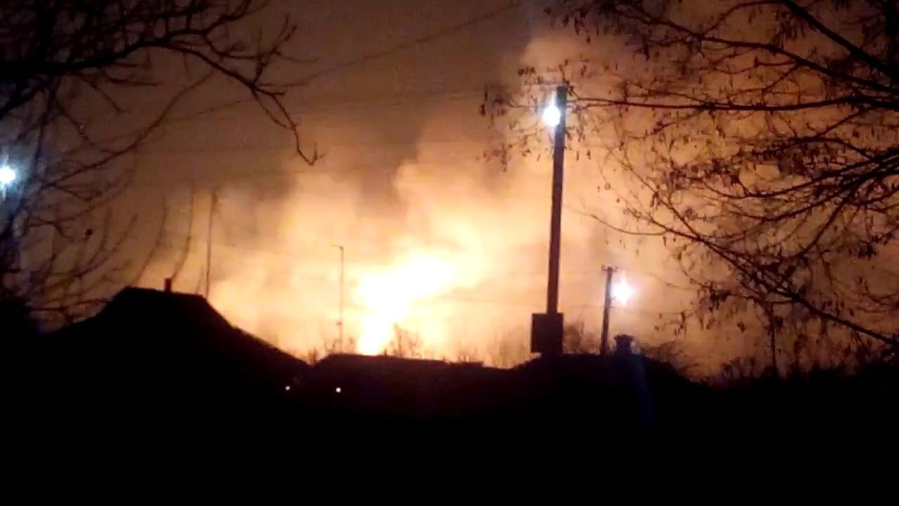 UKRAINA: pożar składu amunicji i ewakuacja miasta