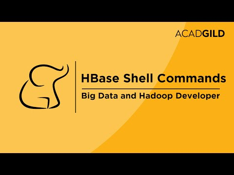 HBase Tutorial for Beginners | What is HBase in Hadoop | HBase Shell Commands