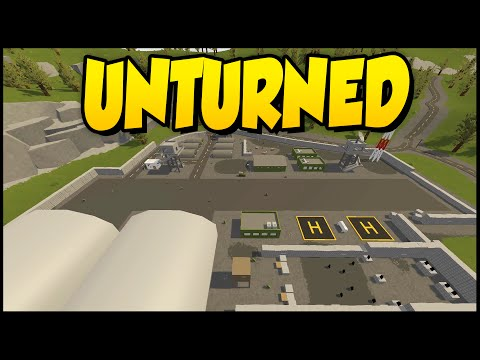 Unturned Russia Map ➤ VOLK MILITARY BASE! [Unturned Gameplay] #2