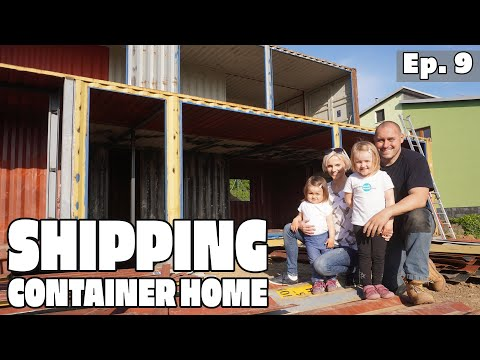 Stavíme kontejnerový dům – svépomoci EP9
