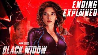 Black Widow 2021 Explained in HINDI | Ending Explained | MARVEL |