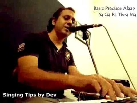 Learn Basic Alaap Hindustani Classical Singing tutorial